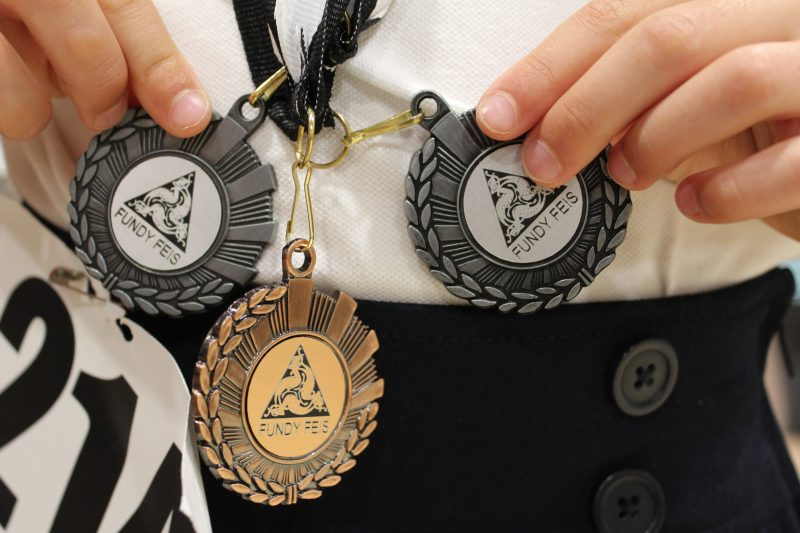 Fundy Feis medals